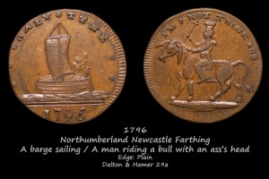 Newcastle Farthing D&H29a