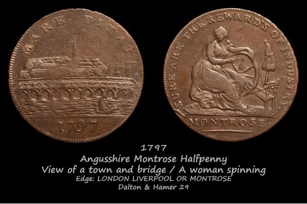 Scotland Angusshire Montrose Halfpenny D&H29