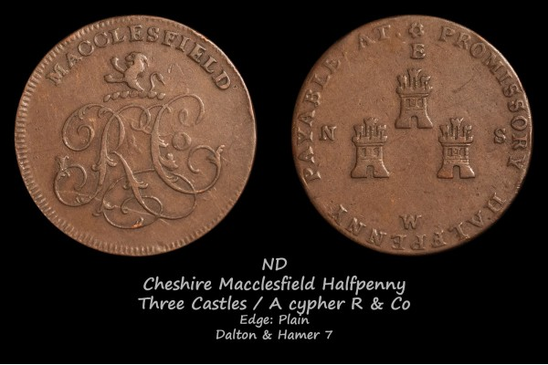 Cheshire Macclesfield Halfpenny D&H7