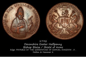 Exeter Halfpenny D&H2