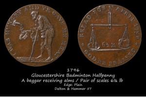 Badminton Halfpenny D&H57