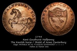 Goudhurst Halfpenny D&H28a