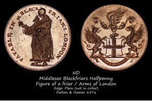 Blackfriars Halfpenny D&H257a