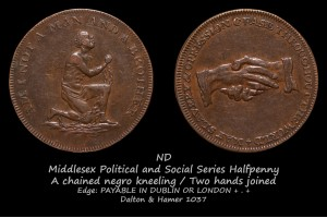 Political and Social Series Halfpenny D&H1037