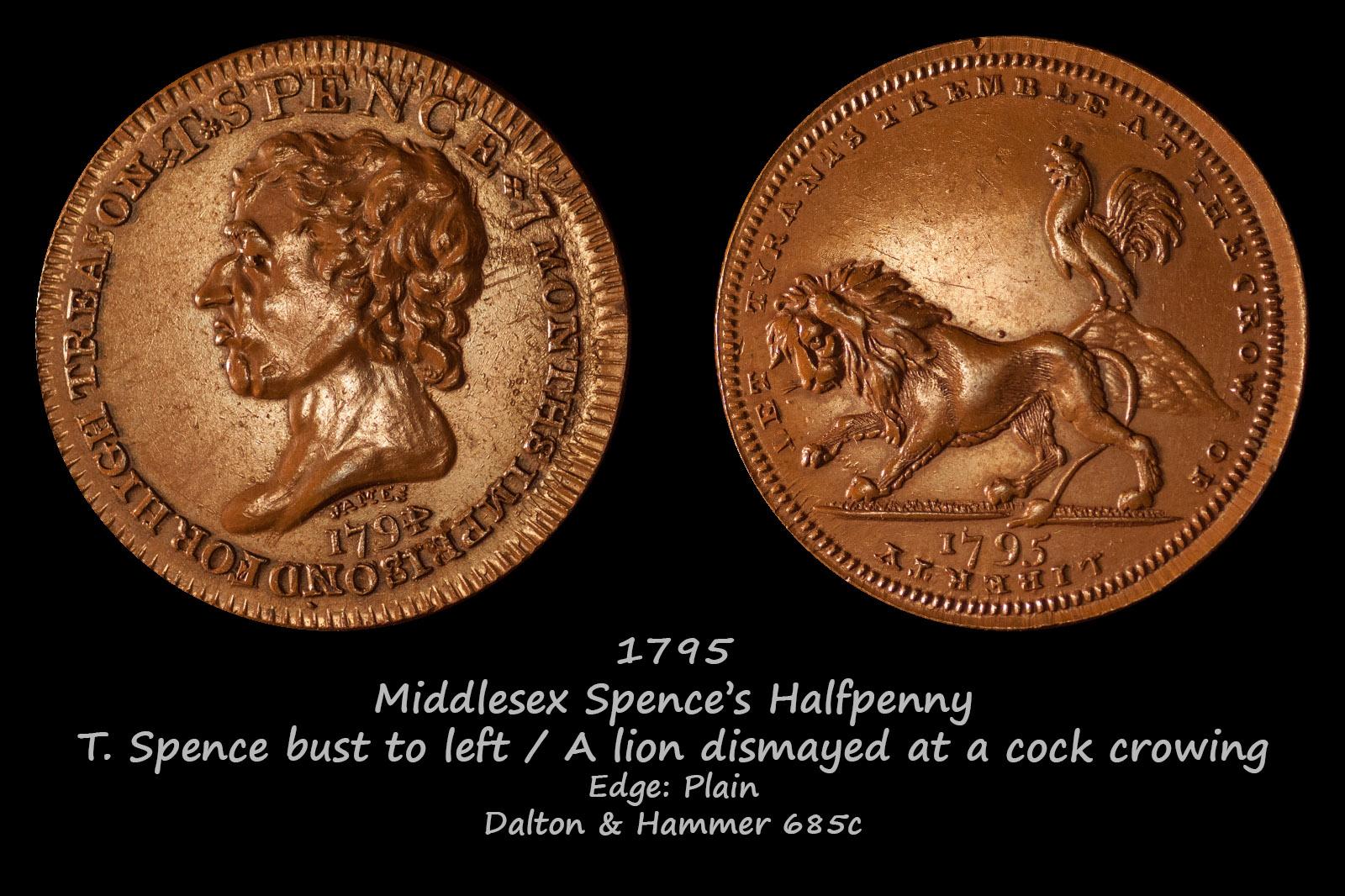 Spence's Halfpenny D&H685c