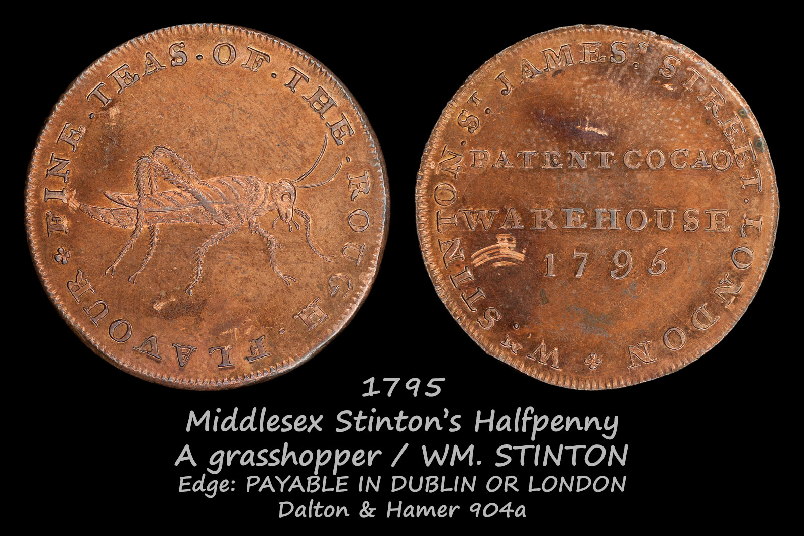 Middlesex Stinton's Halfpenny D&H904a