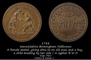 Birmingham Halfcrown D&H1
