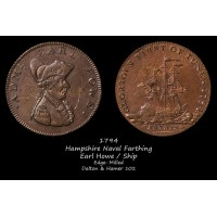 Hampshire Naval Farthing D&H102