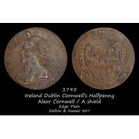 Ireland Dublin Cornwell's Halfpenny D&H307
