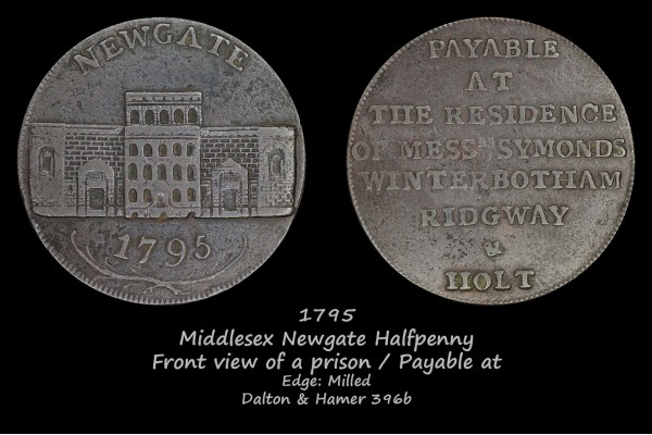 Middlesex Newgate D&H396b