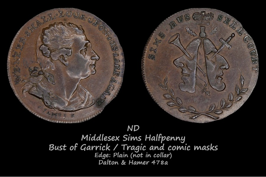Middlesex Sims D&H478a