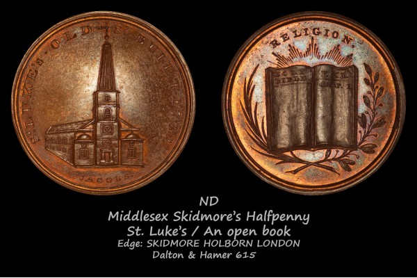 Middlesex Skidmore's Hapfpenny D&H615