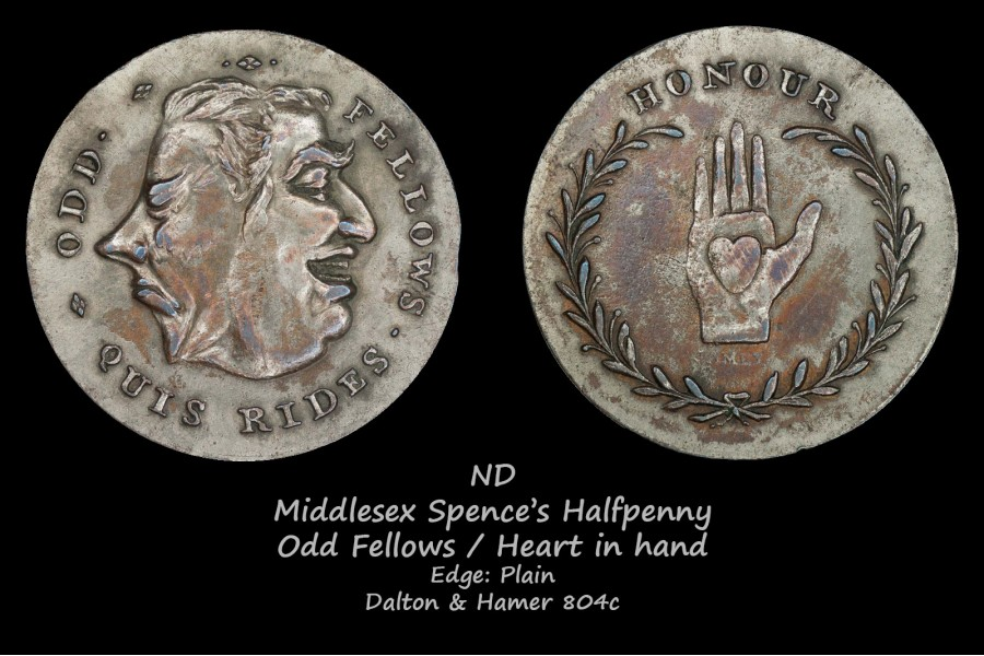 Middlesex Spence's D&H804c, серебрение