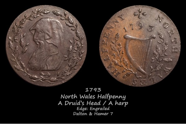 North Wales Halfpenny D&H7