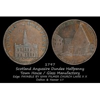 Scotland Angusshire Dundee Halfpenny D&H17