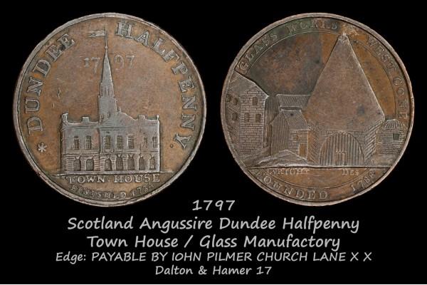 Scotland Angusshire Dundee Halfpenny D&H17