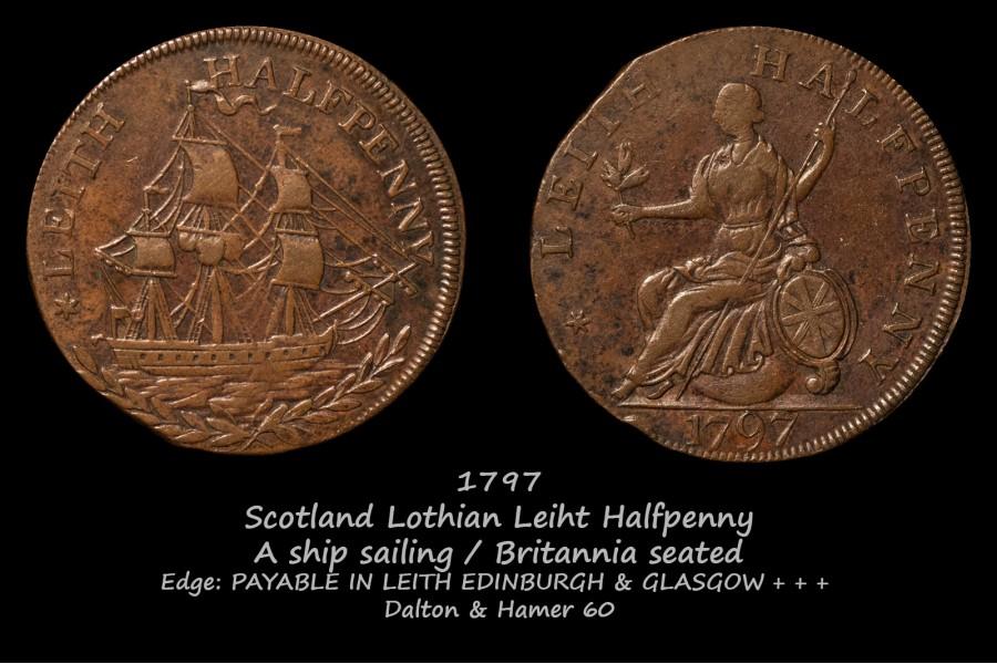 Scotland Lothian Leiht D&H60