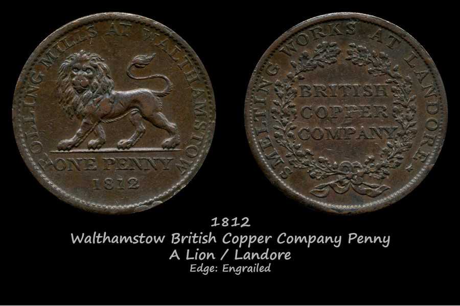 Walthamstow British Copper Company Penny