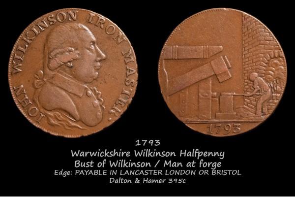 Warwickshire Wilkinson Halfpenny D&H395c