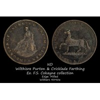 Wilthisre Purton & Cricklade Farthing W4390a