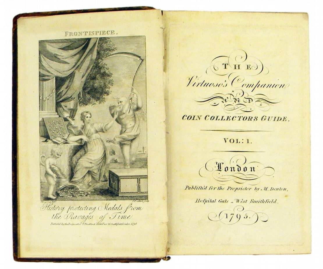 The Virtuoso's Companion and Coin Collector's Guide, Thomas Prattent, 1795