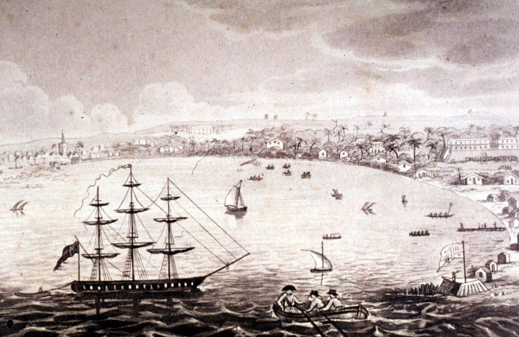 Carlisle Bay and Bridgetown, Barbadoes