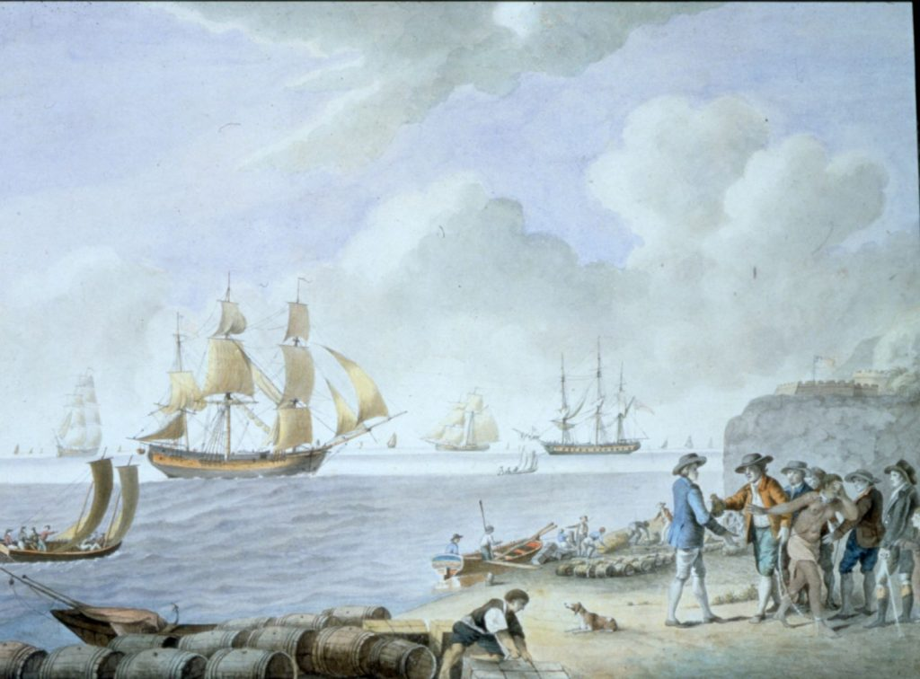 Slave Traffic, Samuel Hutchinson, 1793