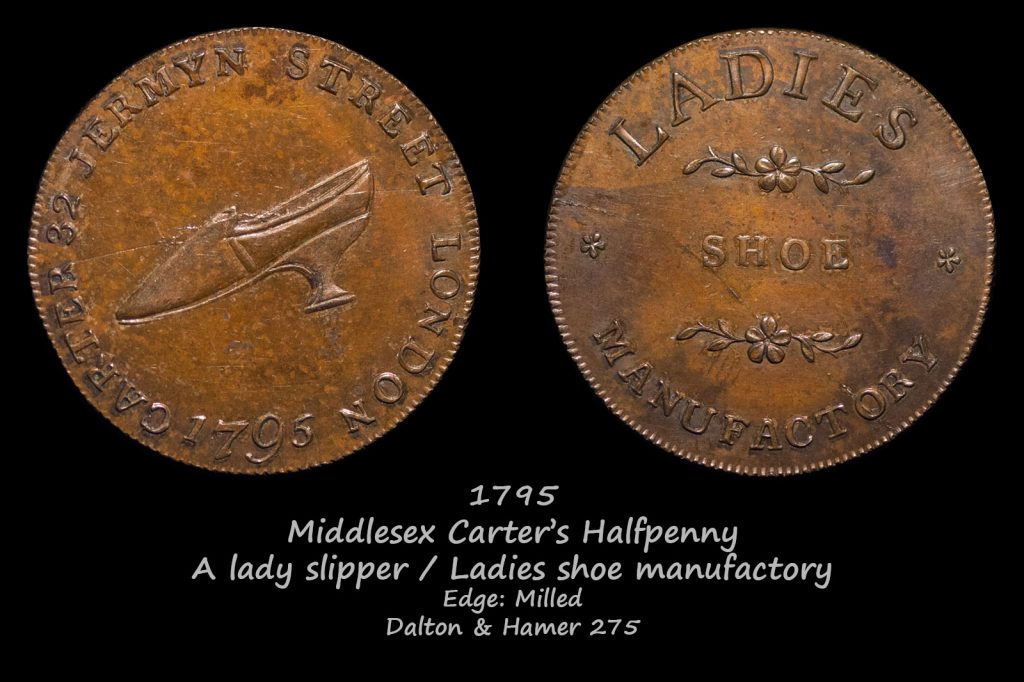 Middlesex Carter's Halfpenny D&H275