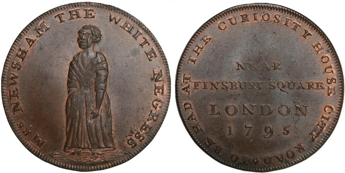 Middlesex Hall's Halfpenny D&H317